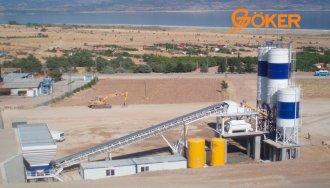 Бетонные заводы GOKER (Турция)