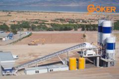 Поставка бетонных заводов GOKER (Турция)
